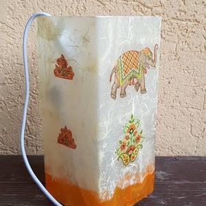 dekoratív asztali lámpa (csinaldmesike) - Meska.hu