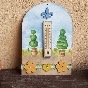 dekoratív hőmérő (csinaldmesike) - Meska.hu