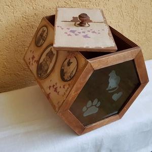 Macska táp tartó (csinaldmesike) - Meska.hu