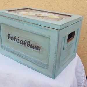 Fényképtartó doboz (csinaldmesike) - Meska.hu