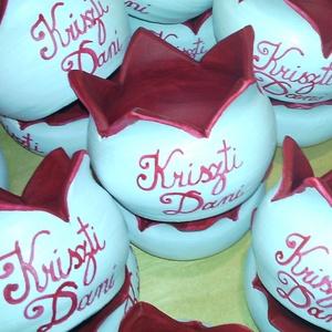 Esküvői köszönetajándék, ültető 10 db/csomag., Köszönőajándék, Emlék & Ajándék, Esküvő, Kerámia, Festett tárgyak, Figyelem!!!\nEz a csomag 10 db kerámiát tartalmaz!\n\nFigyelem! Csak megrendelésre!\nElkészülési idő: 4-..., Meska