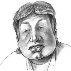 Jamie, Karikatúra, Portré & Karikatúra, Művészet, Fotó, grafika, rajz, illusztráció, Karikatúra vagy portré fotóról, pár nap alatt.\nA/5-ös mérettől A/2-esig, egy vagy több személyről, k..., Meska