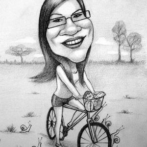 Karikaturista, Képzőművészet, Otthon & lakás, Grafika, Rajz, Fotó, grafika, rajz, illusztráció, Lepj meg valakit egy személyre szóló karikatúrával vagy portréval. Adhatod a főnöködnek, a szerelmed..., Meska