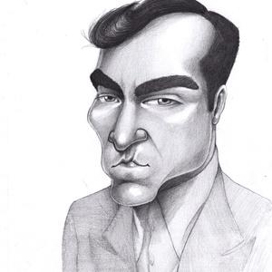Joaquin, Karikatúra, Portré & Karikatúra, Művészet, Fotó, grafika, rajz, illusztráció, Karikatúra vagy portré fotóról, pár nap alatt.\nA/5-ös mérettől A/2-esig, egy vagy több személyről, k..., Meska