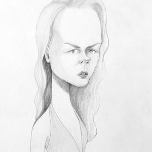 Karikatúra fotóról - Kölyökember Nikó, Karikatúra, Portré & Karikatúra, Művészet, Fotó, grafika, rajz, illusztráció, \nKarikatúra vagy portré fotóról, pár nap alatt.\nA/5-ös mérettől A/2-esig, egy vagy több személyről, ..., Meska