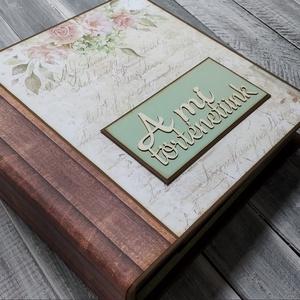 RENDELHETŐ hasonló - Közös emlékek, szép pillanatok - Scrapbook Fotó/emlékalbum , Otthon & Lakás, Papír írószer, Album & Fotóalbum, Papírművészet, Ezt a scrapbook fénykép/emlékalbumot közös emlékek, szép pillanatok tárolására készítettem. Nagyon i..., Meska