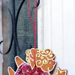 Nagyobb mézeskalács díszek, Otthon & Lakás, Karácsony & Mikulás, Karácsonyi dekoráció, Mézeskalácssütés, Mézeskalács díszek kérhetőek, Padlásműhely stílusban díszítve... Rengeteg formában. Postázni nem sze..., Meska