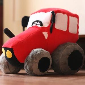 Plüss traktor (Bármilyen színben), Autó & Motor, Plüssállat & Játékfigura, Játék & Gyerek, Varrás, Plüssből készült MTZ traktor. Saját szabásminta alapján. 20 centi magas, 20 centi széles a kerekeiné..., Meska