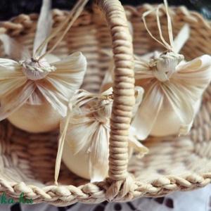 Fehér angyalok (csutkababa) - Meska.hu