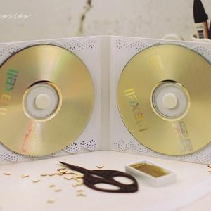 CD/DVD-tartó dupla  (csutkababa) - Meska.hu