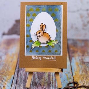 Húsvéti képeslap (csutkababa) - Meska.hu