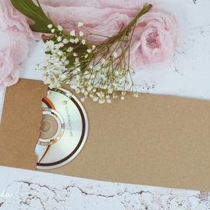 CD/DVD-tartó 1 lemezes (csutkababa) - Meska.hu