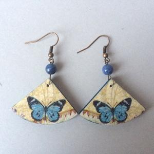 Kék pillangó fübevaló (cvzs) - Meska.hu