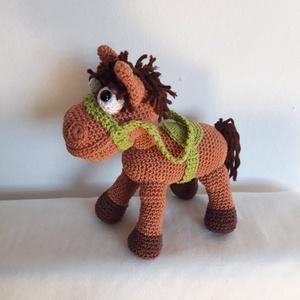 Kis lovacska, Játék & Gyerek, Ló, Plüssállat & Játékfigura, Horgolás, Meska