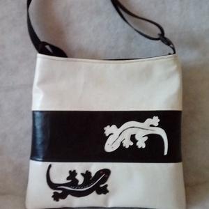 Fekete-fehér táska (danvikici) - Meska.hu