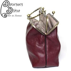 Csábos táska - 20cm-es dupla fémkerettel (ddius) - Meska.hu