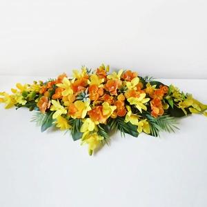 Trópusi orchideás asztaldísz