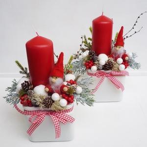 2db-os Télapós karácsonyi asztaldísz csomag