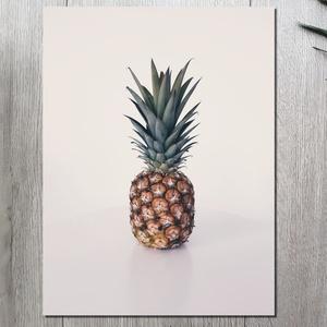 Ananász vászonkép-Pineapple canvas, Otthon & Lakás, Dekoráció, Kép & Falikép, Fotó, grafika, rajz, illusztráció, Meska