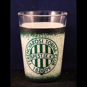 FTC emblémás  kicsi vizes pohár ( 0,2 l )   - Ideális foci rajongóknak ( férfiaknak-férjeknek-barátoknak ) , Férfiaknak, Sör, bor, pálinka, Otthon & lakás, Konyhafelszerelés, Decoupage, transzfer és szalvétatechnika, IDEÁLIS SZURKOLÓI AJÁNDÉK A CSAPAT RAJONGÓINAK  \n\n- HA NEM TALÁLSZ  EZZEL AZ EMBLÉMÁVAL OLYAN SZETTE..., Meska