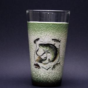 Hal ( süllő )  motívummal díszített vizes pohár (0,3 l ) - horgászoknak -férjeknek-barátoknak -születésnapra-névnapra , Férfiaknak, Sör, bor, pálinka, Otthon & lakás, Horgászat, vadászat, Decoupage, transzfer és szalvétatechnika, IDEÁLIS AJÁNDÉK A HALAK ÉS A HORGÁSZAT  SZERELMESEINEK. \n\n\n\nEgy igazán különleges -egyedi ajándékkal..., Meska