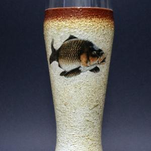 Hal ( ponty ) motívummal díszített sörös pohár ( 0,5 l ) - horgászoknak -férjeknek-barátoknak -születésnapra-névnapra , Férfiaknak, Sör, bor, pálinka, Otthon & lakás, Horgászat, vadászat, Decoupage, transzfer és szalvétatechnika, IDEÁLIS AJÁNDÉK A HALAK ÉS A HORGÁSZAT  SZERELMESEINEK. \n\nEgy igazán különleges -egyedi ajándékkal l..., Meska