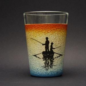 Horgász témával  díszített vizes pohár -0,3 L - horgászoknak -férjeknek-barátoknak -születésnapra-névnapra , Férfiaknak, Sör, bor, pálinka, Otthon & lakás, Horgászat, vadászat, Decoupage, transzfer és szalvétatechnika, IDEÁLIS AJÁNDÉK A HALAK ÉS A HORGÁSZAT  SZERELMESEINEK. \n\n\nEgy igazán különleges -egyedi ajándékkal ..., Meska