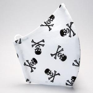 Szájmaszk -pamut szájmaszk - egészségügyi mosható szájmaszk-gyermek-felnőtt halál fejes  szájmaszk # (decorfantasy) - Meska.hu