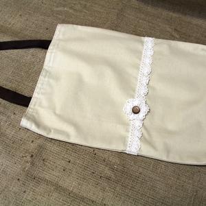Natúr bevásárló táska, (bélelt 30x45cm)-ÖKO környezetbarát anyagból háziasszonyoknak,-INGYENES SZÁLLÍTÁSSAL - Meska.hu