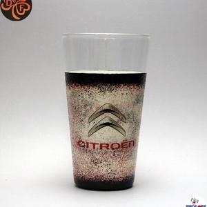 CITROEN emblémával díszített  vizes pohár ; A márka rajongóinak  ; A saját autód fotójával is elkészítjük !, Otthon & Lakás, Konyhafelszerelés, Pohár, Autó márka emblémával -CITROEN - díszített  vizes pohár A saját autód fotójával is elkészítjük.   Ha..., Meska