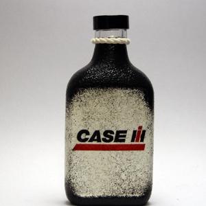 CASE IH Traktor pálinkás üveg ; Saját traktorod fényképével is!, Otthon & Lakás, Dekoráció, Díszüveg, Decoupage, transzfer és szalvétatechnika, Meska