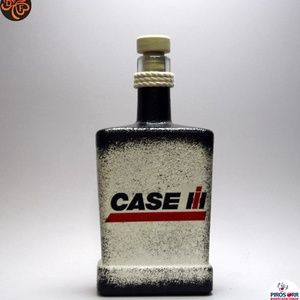 CASE IH Traktor italos üveg ; Saját traktorod fényképével is!, Otthon & Lakás, Dekoráció, Díszüveg, Decoupage, transzfer és szalvétatechnika, Meska