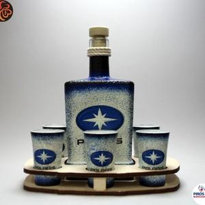POLARIS italos készlet ; Saját quadod fényképével is!, Otthon & Lakás, Dekoráció, Díszüveg, Decoupage, transzfer és szalvétatechnika, Meska