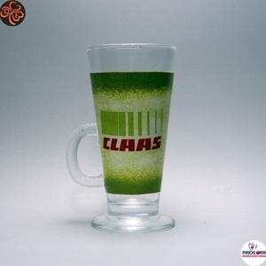 CLASS Traktor kávés pohár ; Saját traktorod fényképével is!, Otthon & Lakás, Konyhafelszerelés, Pohár, Decoupage, transzfer és szalvétatechnika, Meska