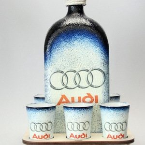 Audi pálinkás készlet ; Audi rajongóknak (decorfantasy) - Meska.hu