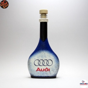 Audi italos üveg ; Audi rajongóknak (decorfantasy) - Meska.hu