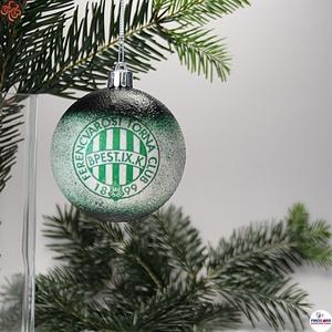 Karácsonyfadísz FTC ; Ajándék férj, barát, FTC  szurkoló részére, Karácsony & Mikulás, Karácsonyfadísz, Decoupage, transzfer és szalvétatechnika, Karácsonyfadísz FTC emblémával 7,5 cm ; Ajándék férj, barát, nagyapa, FTC  szurkoló részére\n\nIgazán ..., Meska