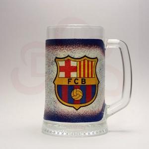 FC Barcelona sörös korsó ; Barcelona foci szurkolóknak, Otthon & Lakás, Konyhafelszerelés, Pohár, Decoupage, transzfer és szalvétatechnika, Meska