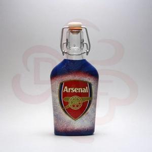 ARSENAL csatosüveg  ; Igazán egyedi Arsenal szurkolói ajándék., Otthon & Lakás, Konyhafelszerelés, Pohár, Decoupage, transzfer és szalvétatechnika, ARSENAL csatosüveg ( 0,2l )\n\nIgazán egyedi Arsenal szurkolói ajándék.\nA saját csapatod vagy csatárod..., Meska