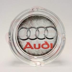 Audi hamutál ; Audi rajongóknak, Otthon & Lakás, Dekoráció, Dísztárgy, Decoupage, transzfer és szalvétatechnika, Audi emblémával díszített hamutál audi autó rajongóknak\n\nA saját autód fotójával is elkészítjük. \nIg..., Meska