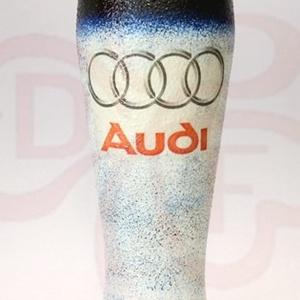 Audi söröspohár ; Audi rajongóknak, Otthon & Lakás, Konyhafelszerelés, Pohár, Decoupage, transzfer és szalvétatechnika, Audi söröspohár ( 0,5l ) audi autó kedvelő férfiaknak\n\nA saját autód fotójával is elkészítjük. \nIgaz..., Meska