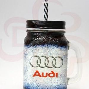 Audi üdítős pohár audi rajongóknak, Otthon & Lakás, Konyhafelszerelés, Pohár, Decoupage, transzfer és szalvétatechnika, Audi üdítős, vizes pohár ( 0,3l ) audi rajongóknak\n\nA saját autód fotójával is elkészítjük. \nIgazi e..., Meska