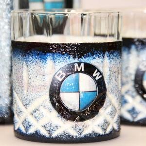 BMW whiskys készlet ; BMW kedvelő férfiaknak (decorfantasy) - Meska.hu