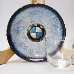 BMW kávé imádóknak ; BMW rajongóknak, Otthon & Lakás, Konyhafelszerelés, Pohár, Decoupage, transzfer és szalvétatechnika, BMW kávés pohár tányérral \n\nIgazi egyedi BMW autós ajándék, férfiaknak, nőknek, barátoknak. kávé imá..., Meska