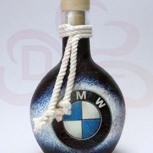 BMW italos üveg ; BMW rajongóknak, Otthon & Lakás, Dekoráció, Díszüveg, Decoupage, transzfer és szalvétatechnika, Meska
