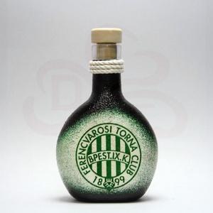 FTC pálinkás üveg ; FTC futball szurkolóknak, Otthon & Lakás, Üveg & Kancsó, Konyhafelszerelés, Decoupage, transzfer és szalvétatechnika, Meska