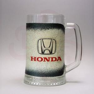HONDA sörös korsó ; Saját Honda autód fotójával is elkészítjük !, Otthon & Lakás, Konyhafelszerelés, Bögre & Csésze, Decoupage, transzfer és szalvétatechnika, Meska