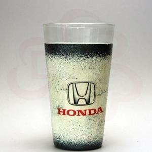 HONDA vizes pohár ; Saját Honda autód fotójával is elkészítjük !, Otthon & Lakás, Konyhafelszerelés, Pohár, Decoupage, transzfer és szalvétatechnika, Meska