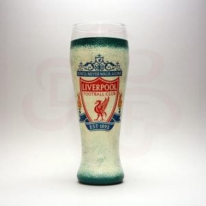 LIVERPOOL sörös pohár ; Liverpool szurkolóknak, sör kedvelő rajongóknak, Otthon & Lakás, Konyhafelszerelés, Pohár, Decoupage, transzfer és szalvétatechnika, Meska
