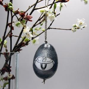 TOYOTA húsvéti tojás ; Ajándék TOYOTA rajongók részére, Otthon & Lakás, Dekoráció, Dísztárgy, TOYOTA húsvéti tojás ; Ajándék TOYOTA rajongók részére, hungarocell 7 cm  Igazán egyedi húsvéti aján..., Meska